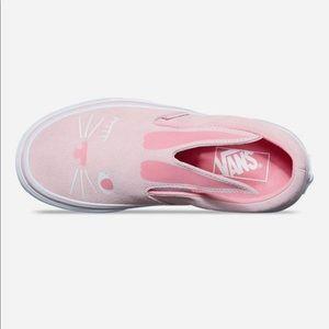 vans bunny shoes pink